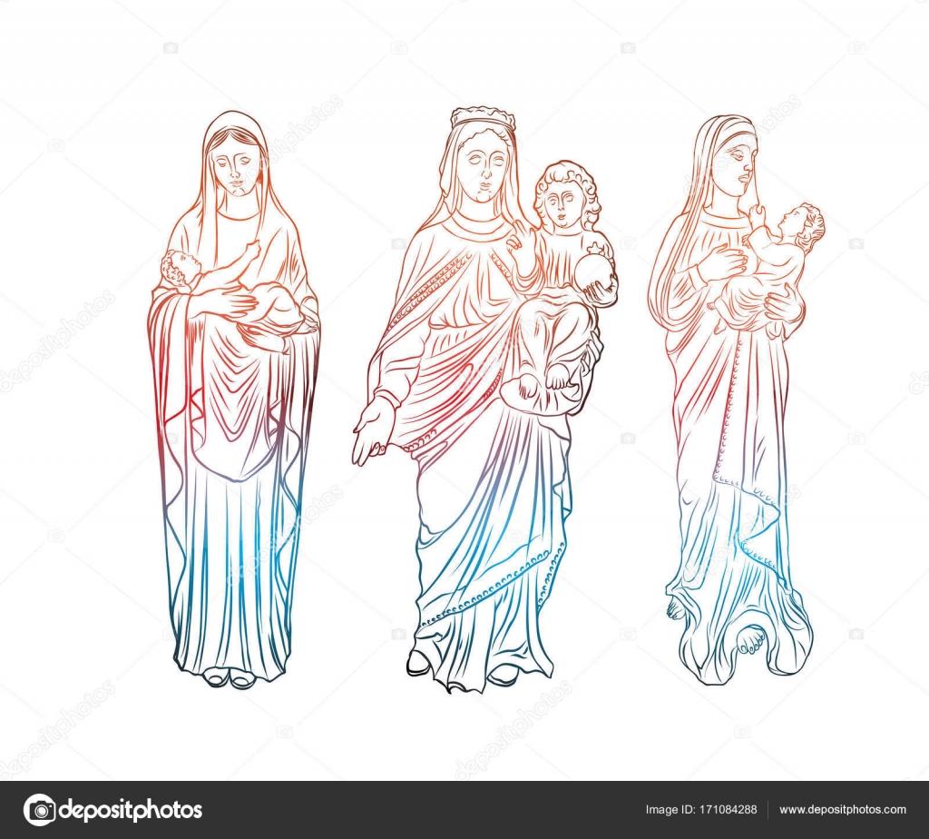La Valeur De L Art De Tatouage De Vierge Marie Symbole De La