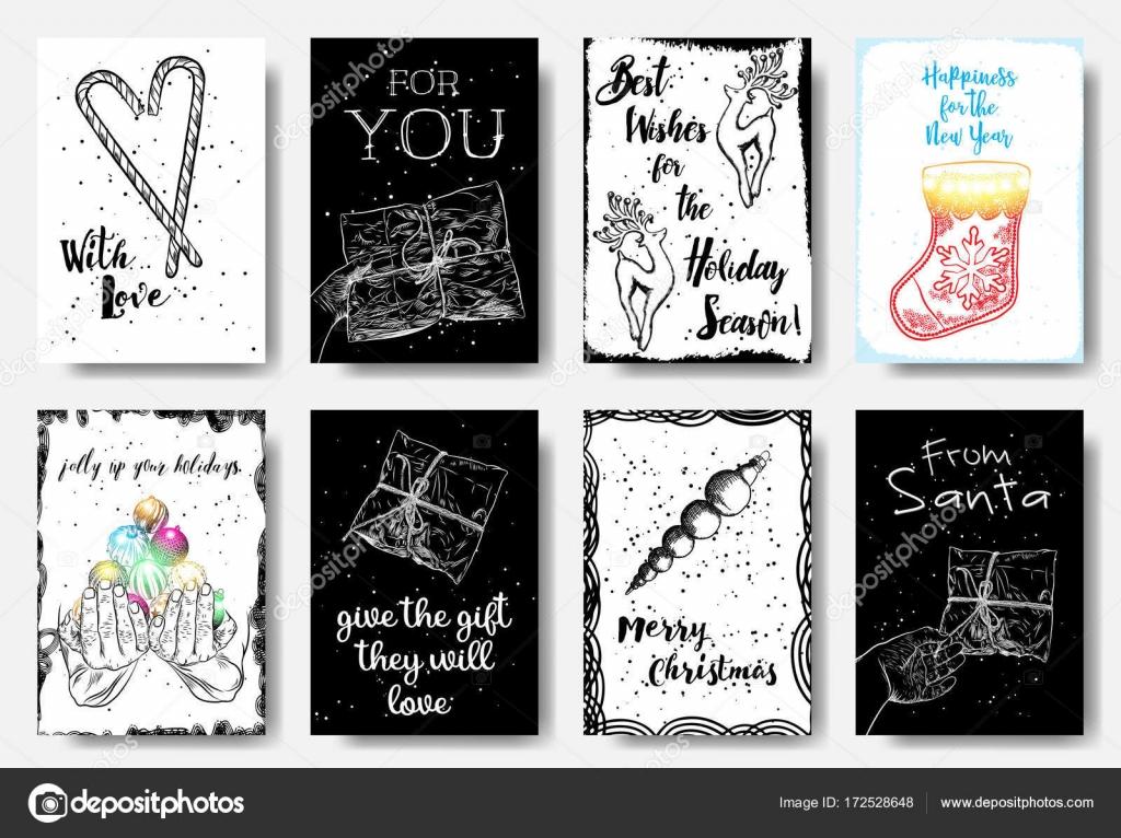 Conjunto grande de vacaciones creativas banner plantillas. Tarjetas ...