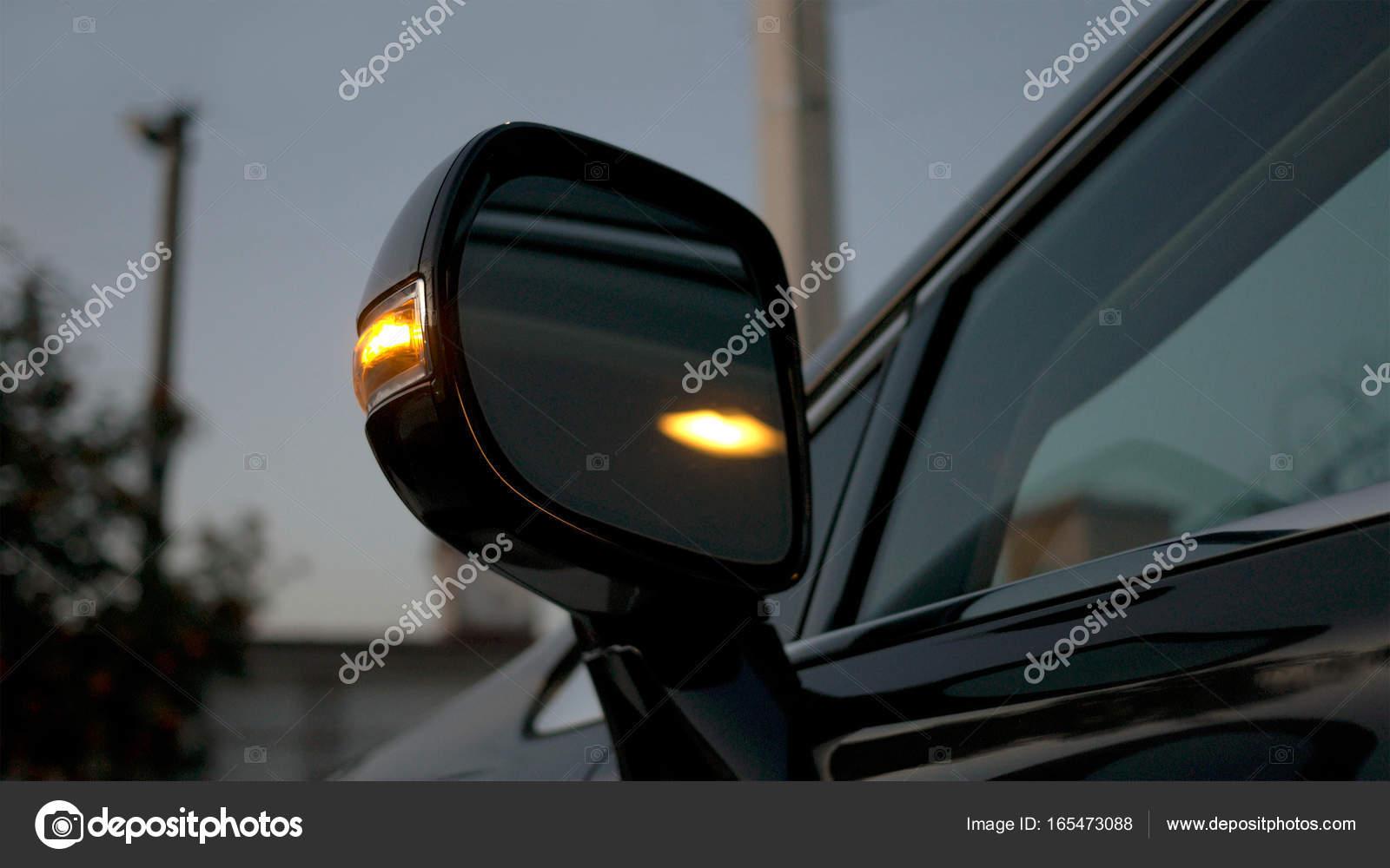 Espejo retrovisor de coche indicador de direcci n est for Espejo retrovisor interior