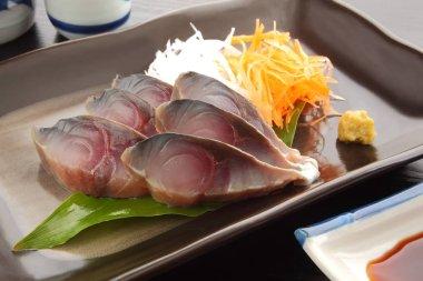 Vinegar-ed Mackerel with Wasabi and Japanese Sake, Japanese Food