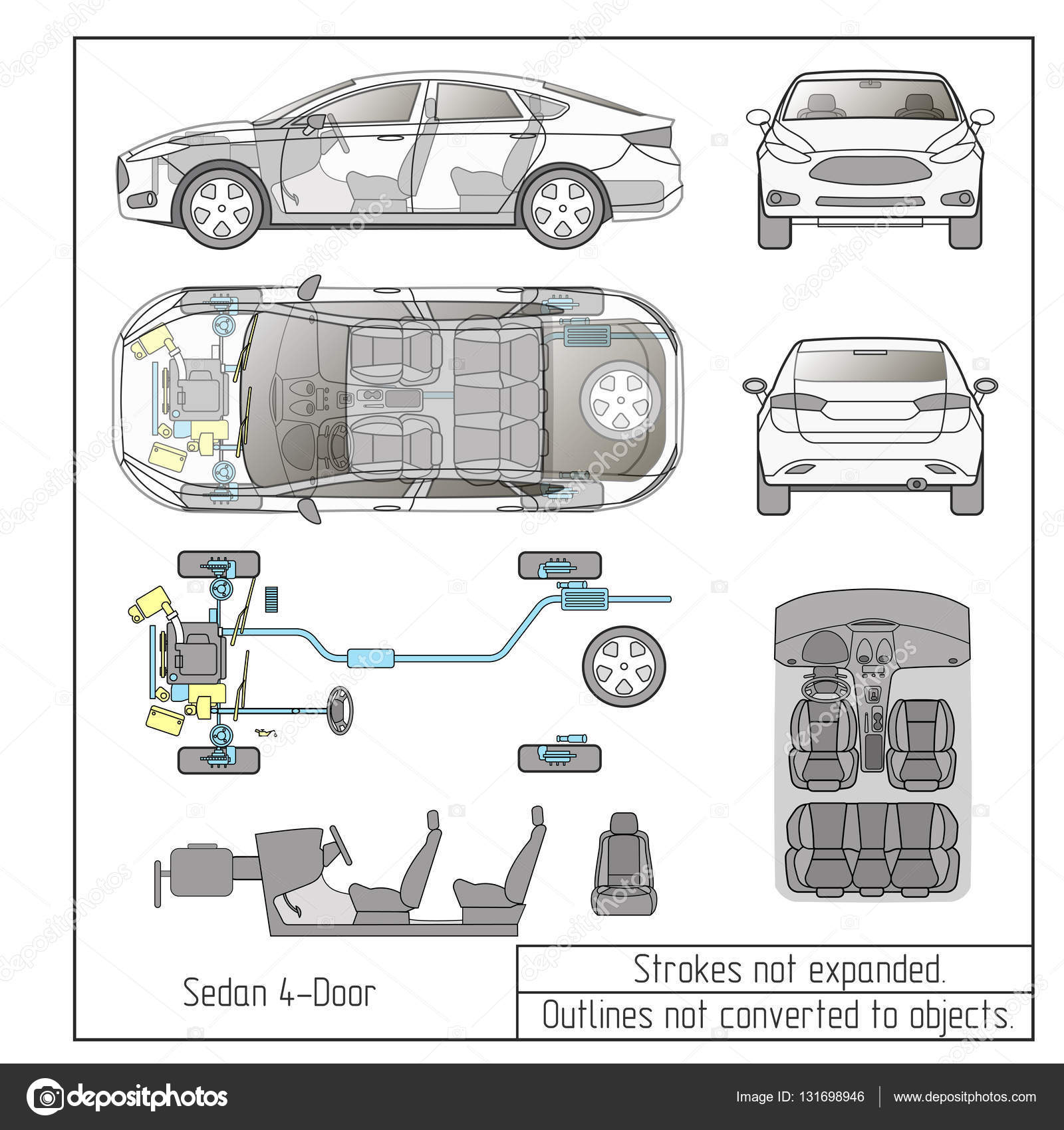 Parts Of A Car Engine Diagram Com