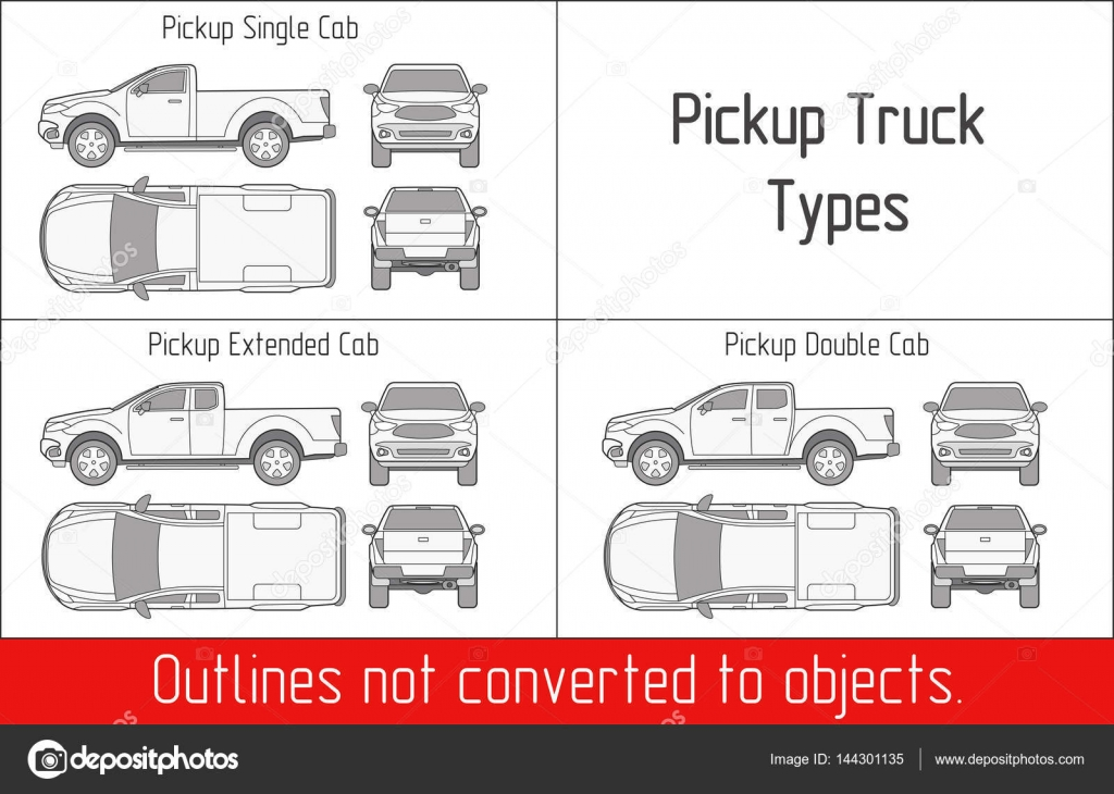 fire engine vehicle damage diagram truck pickup types template drawing vector outlines not suv damage diagram #4