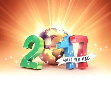 2017 Joyful worldwide greetings