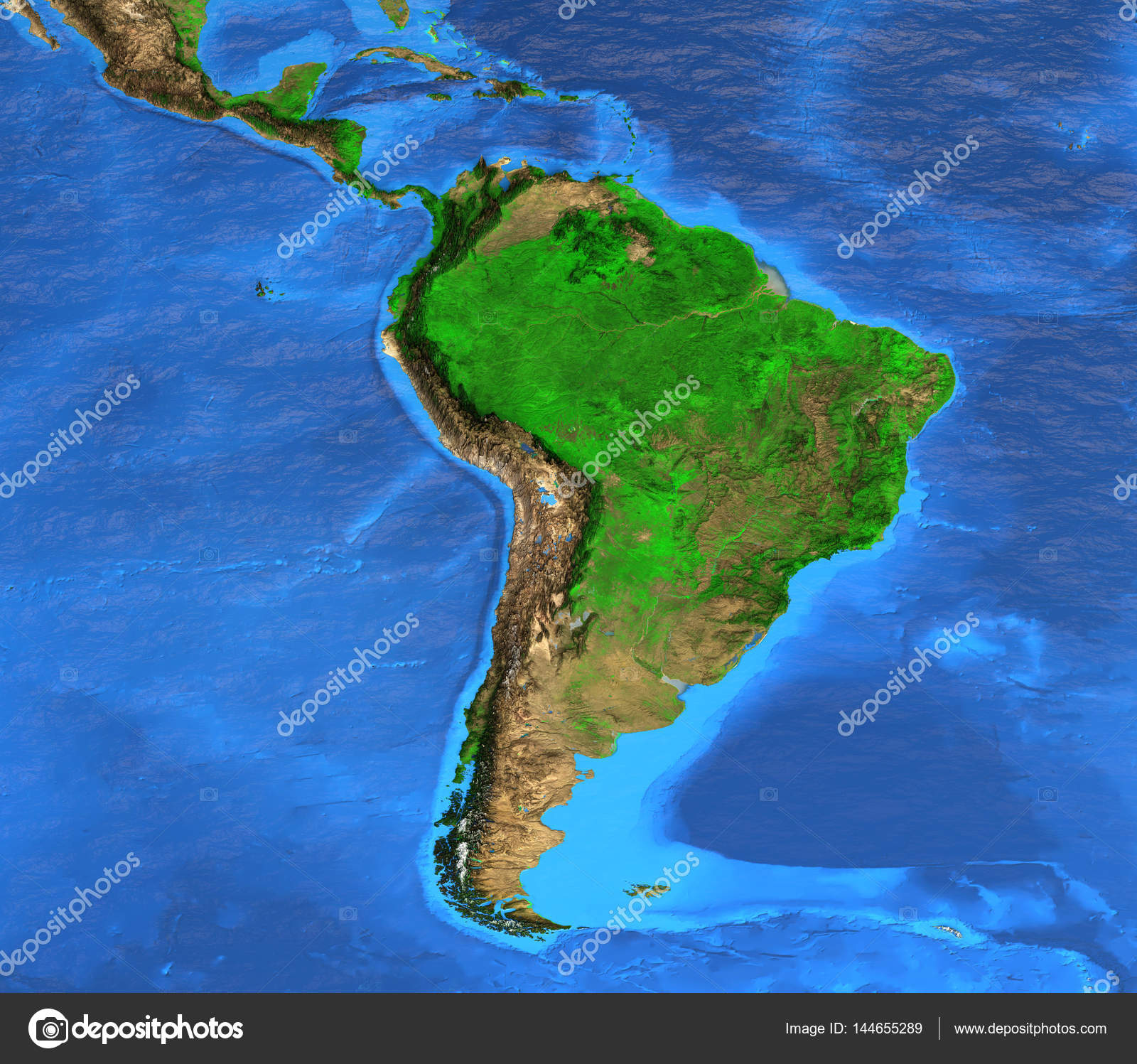 High resolution world map focused on south america fotos de stock high resolution world map focused on south america fotos de stock gumiabroncs Images