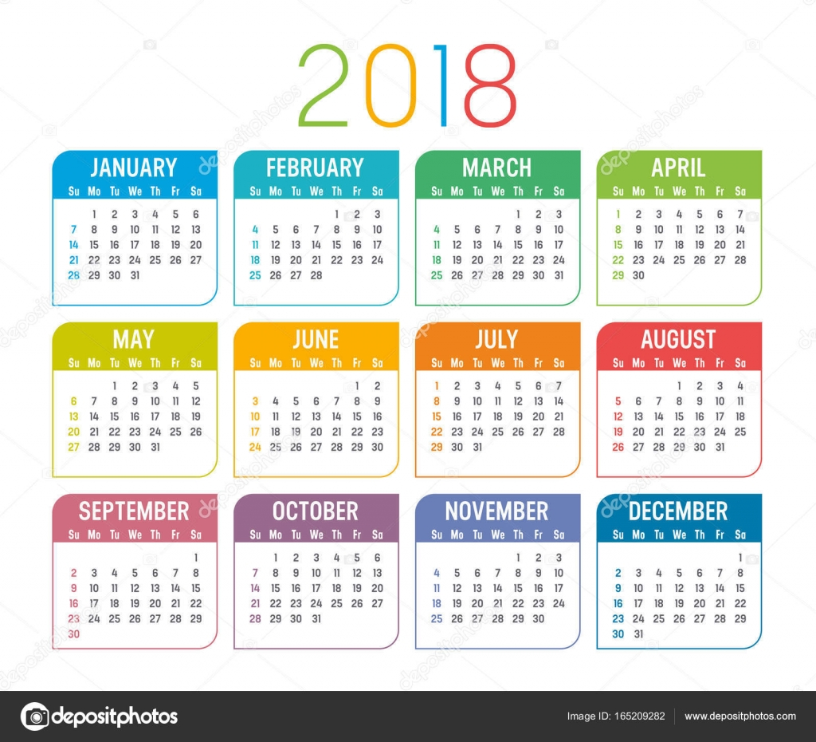 English Calendar Wallpaper : Modelo de vetor calendário ano — vetores stock
