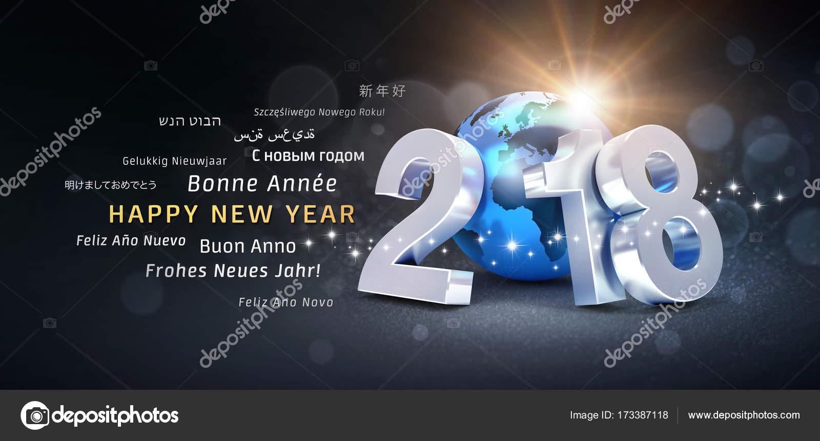 Happy new year 2018 international greetings stock photo happy new year 2018 international greetings stock photo m4hsunfo