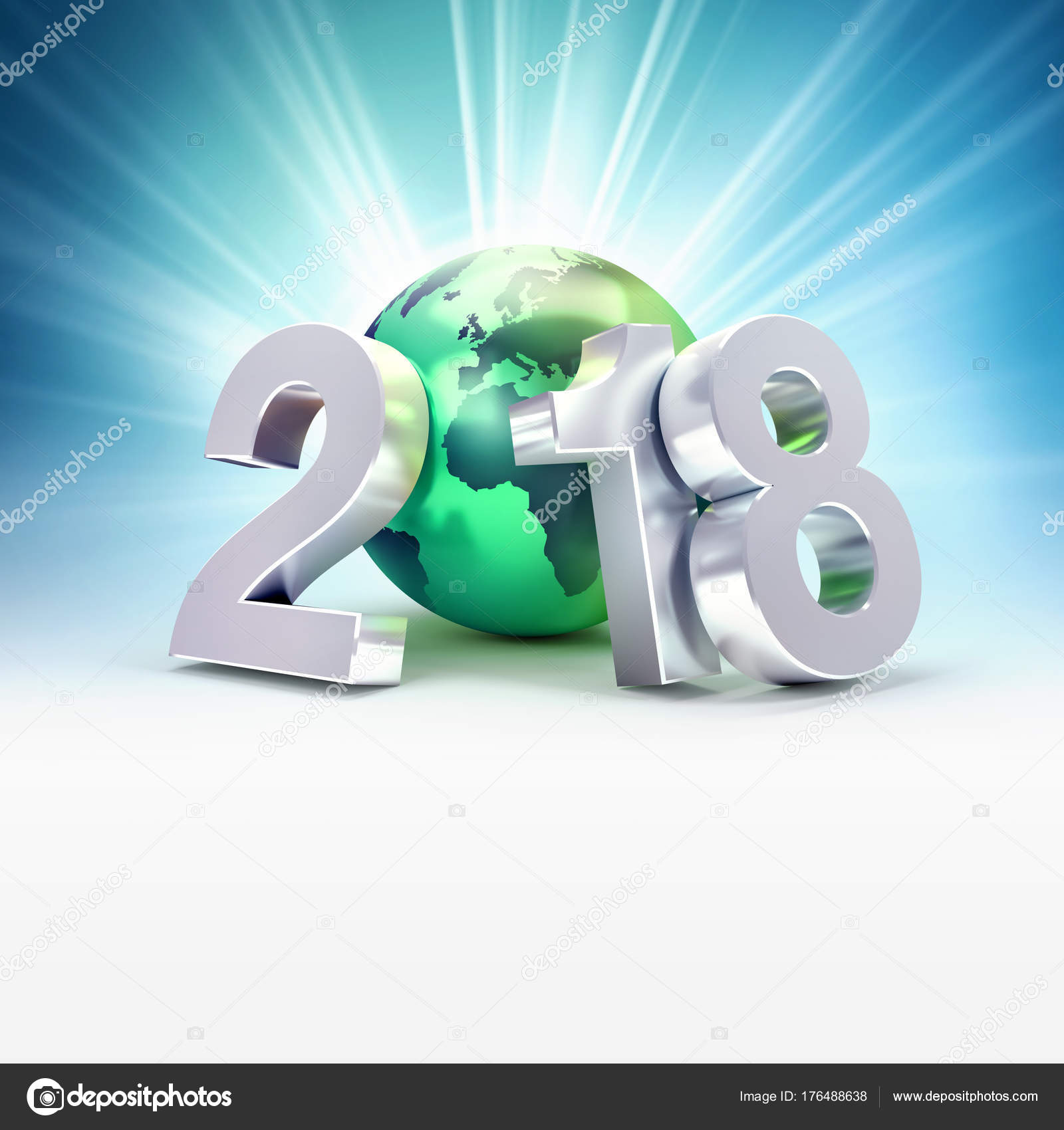 2018 greeting symbol for environment stock photo titoonz 176488638 2018 greeting symbol for environment stock photo buycottarizona Image collections