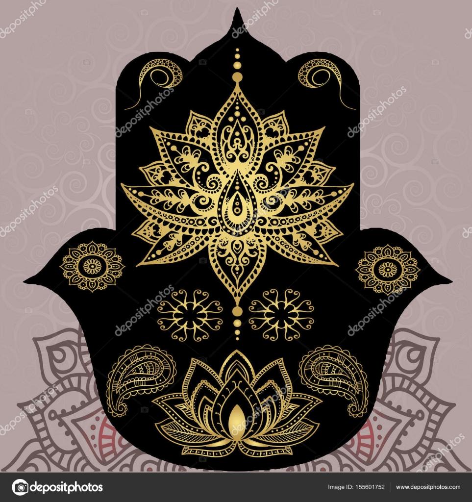 Simbolo Mandala Budista Símbolos De Oro Del Budismo Mandala
