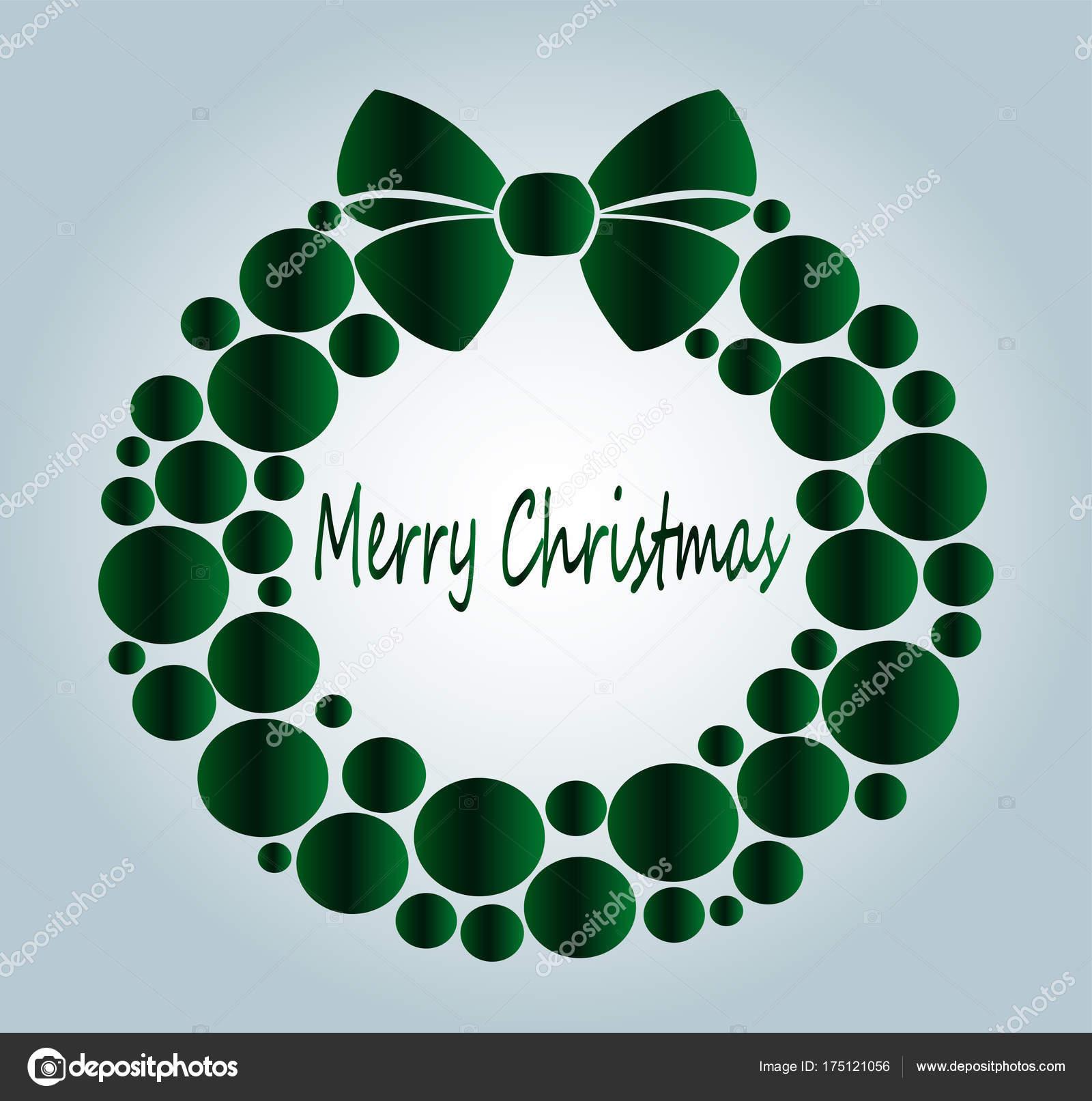Beautiful Christmas Wreath Color Close Family Holiday Christmas ...
