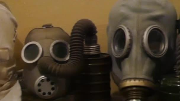 Plynové masky. Plynové masky