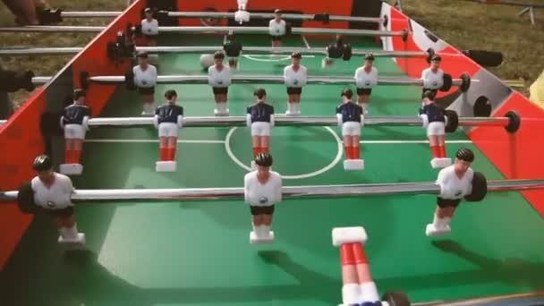 Football. Table football game