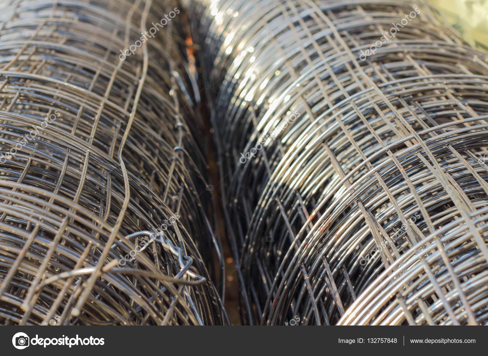 Drahtgeflecht Baustahl — Stockfoto © tcareob72 #132757848