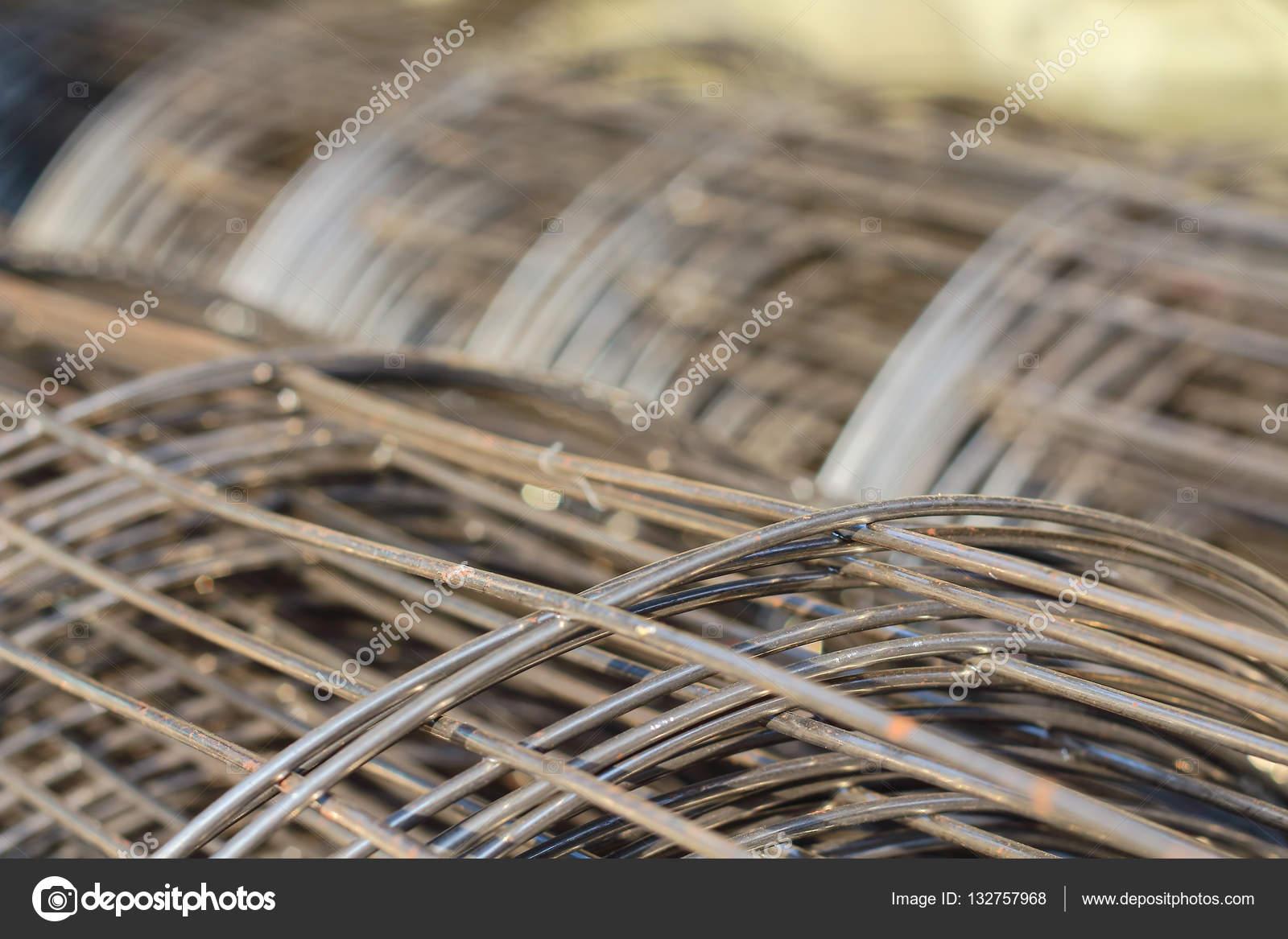 Drahtgeflecht Baustahl — Stockfoto © tcareob72 #132757968
