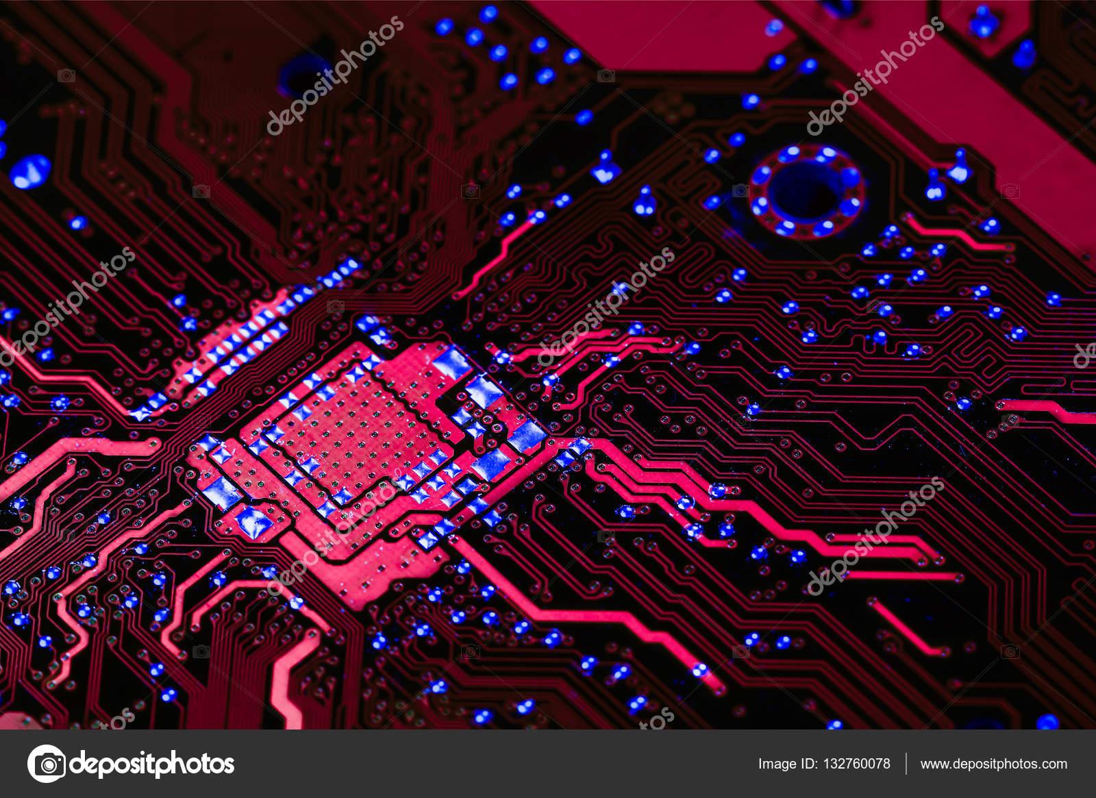 Circuito Eletronico : Placa de circuito eletrônico u stock photo tcareob