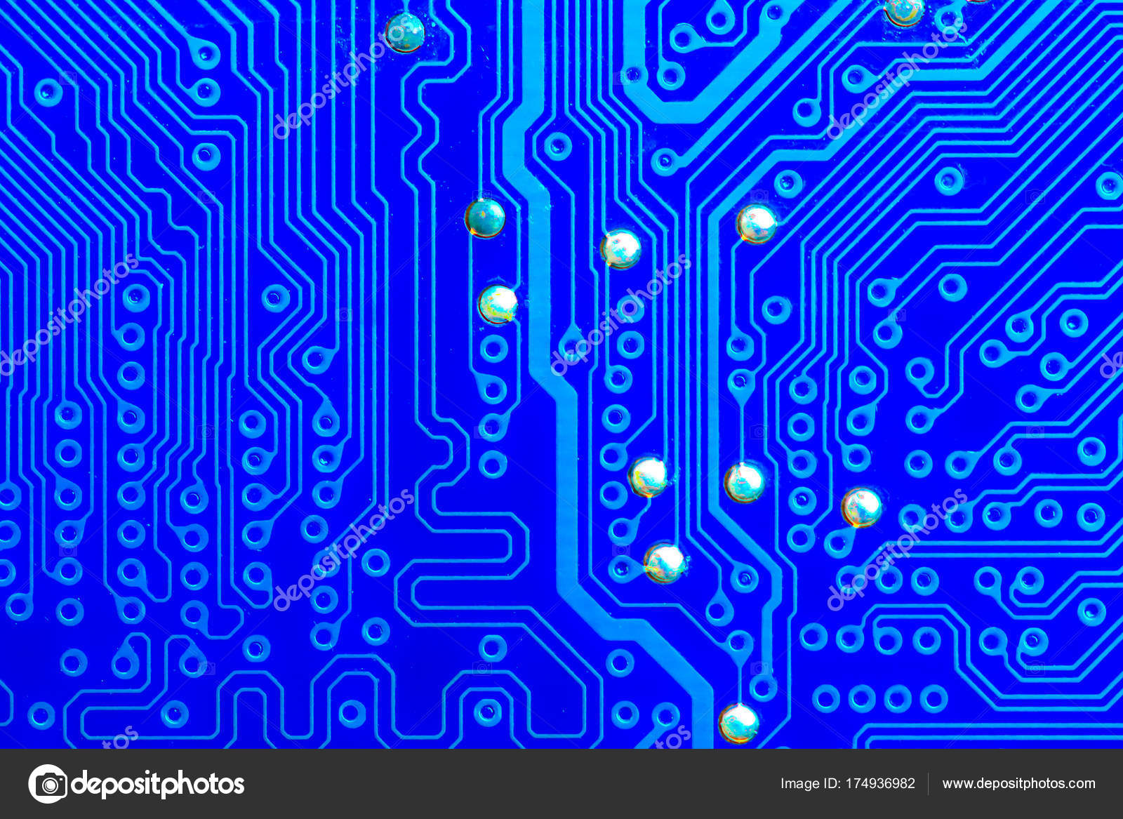 Closeup Electronic Circuit Board Background Stock Photo Old Electronics Royalty Free Image