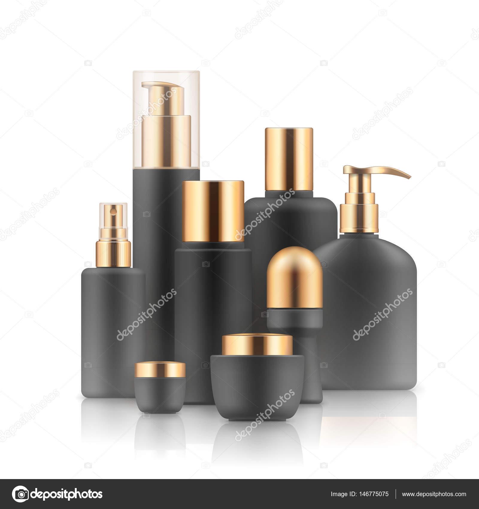 Vorlagen von kosmetischen Produkten — Stockvektor © nastya-mal ...