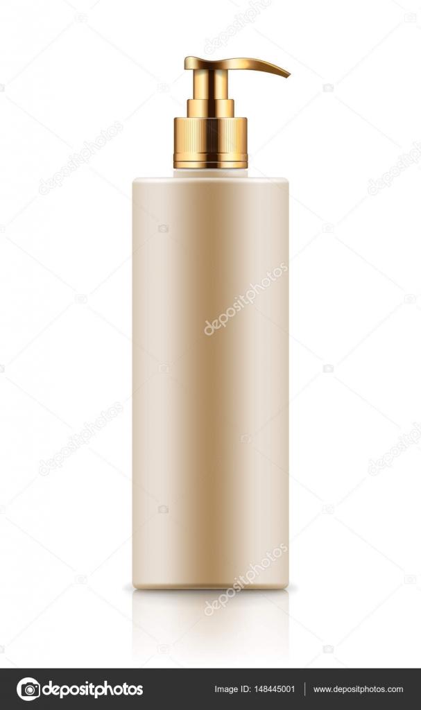 Wspaniały Makieta butelka z dozownikiem — Grafika wektorowa © nastya-mal GN66