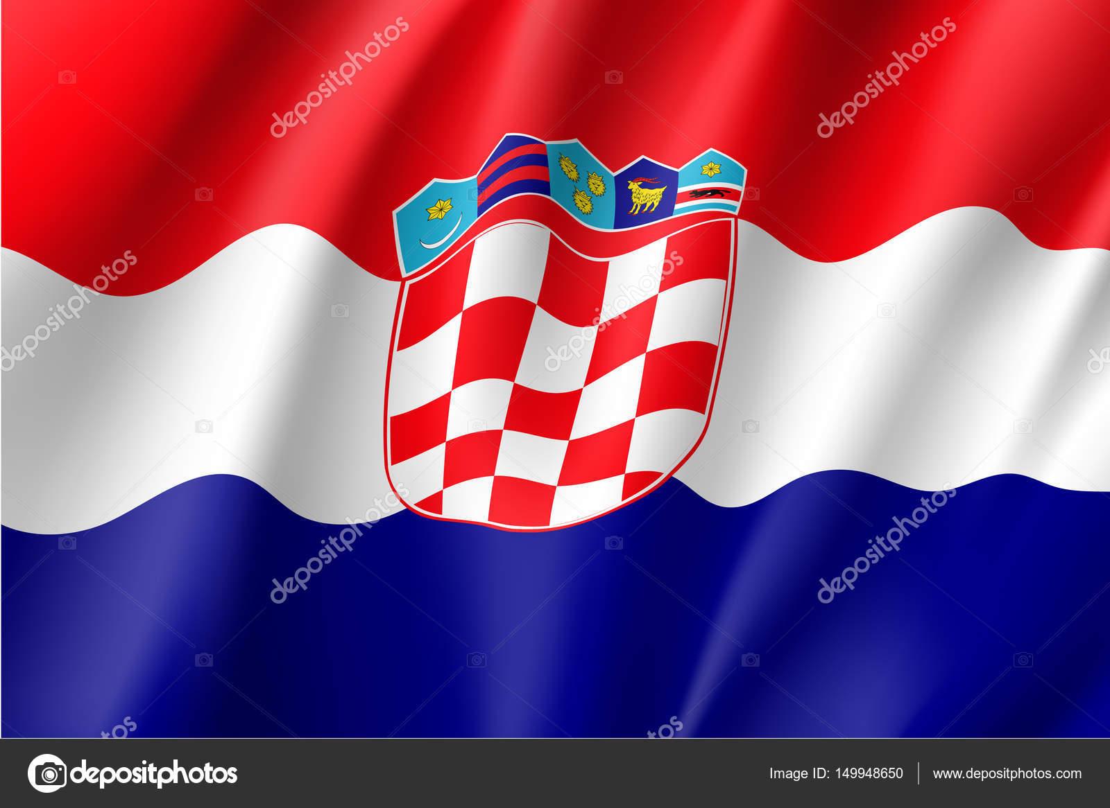National Flag Of Croatia Republic Stock Vector Nastya Mal