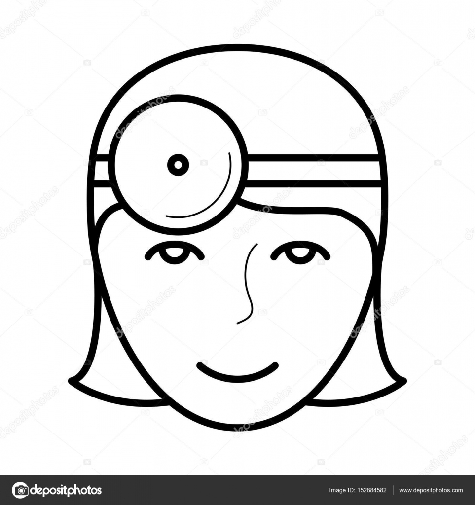 Icono de ojo médico, ilustración vectorial — Archivo Imágenes ...