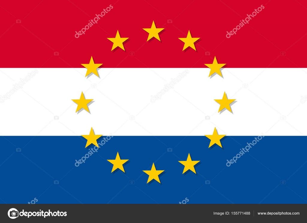 Bandera paises estrella en con una su