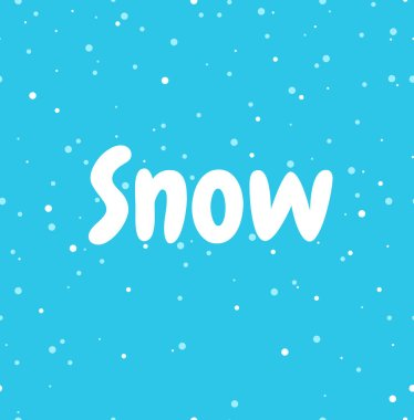 Seamless snow pattern background. Snow. Winter background