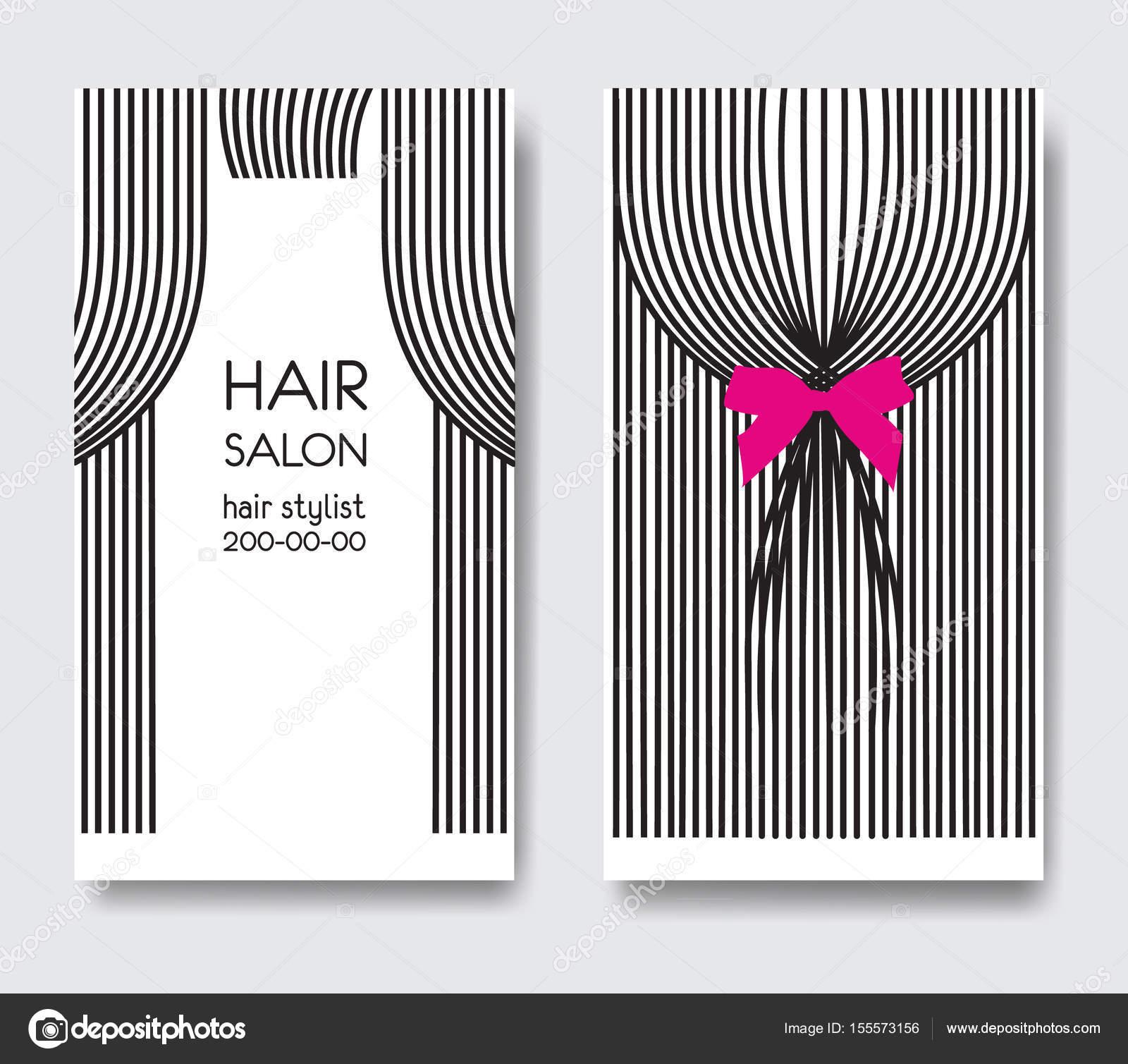 Template design business card long straight hair bow business card template design business card long straight hair bow business card stock vector colourmoves