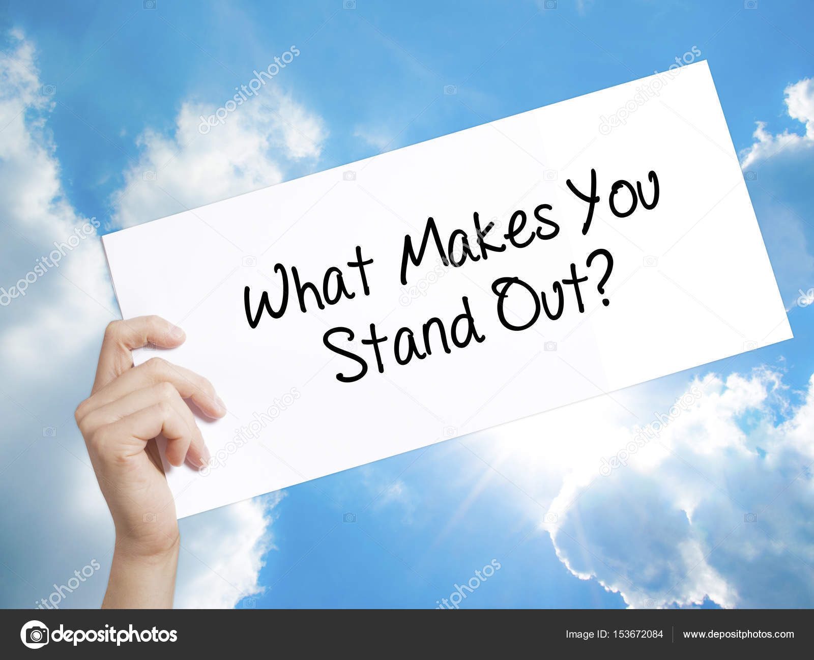 what makes you stand out from the crowd