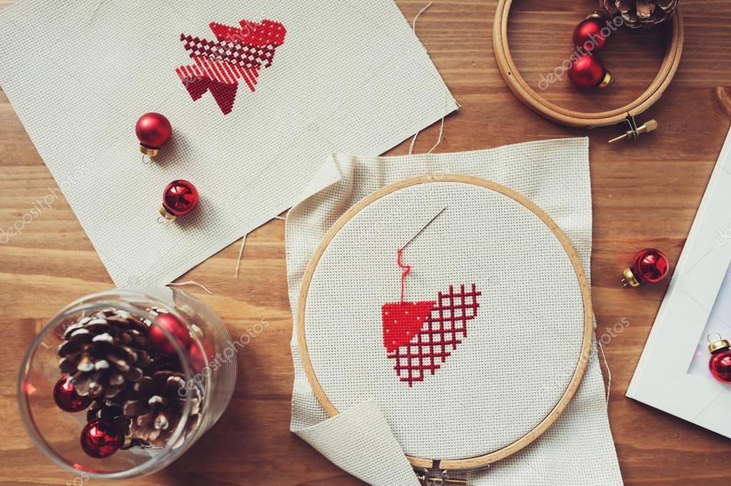 ᐈ Cross stitch stock images, Royalty Free photos of cross stitch photos |  download on Depositphotos®