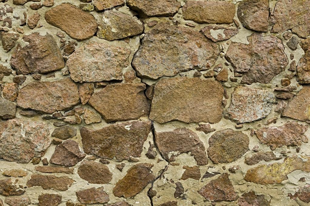 Antiguo muro de piedra seca - hermosa textura y fondo — Foto de ...