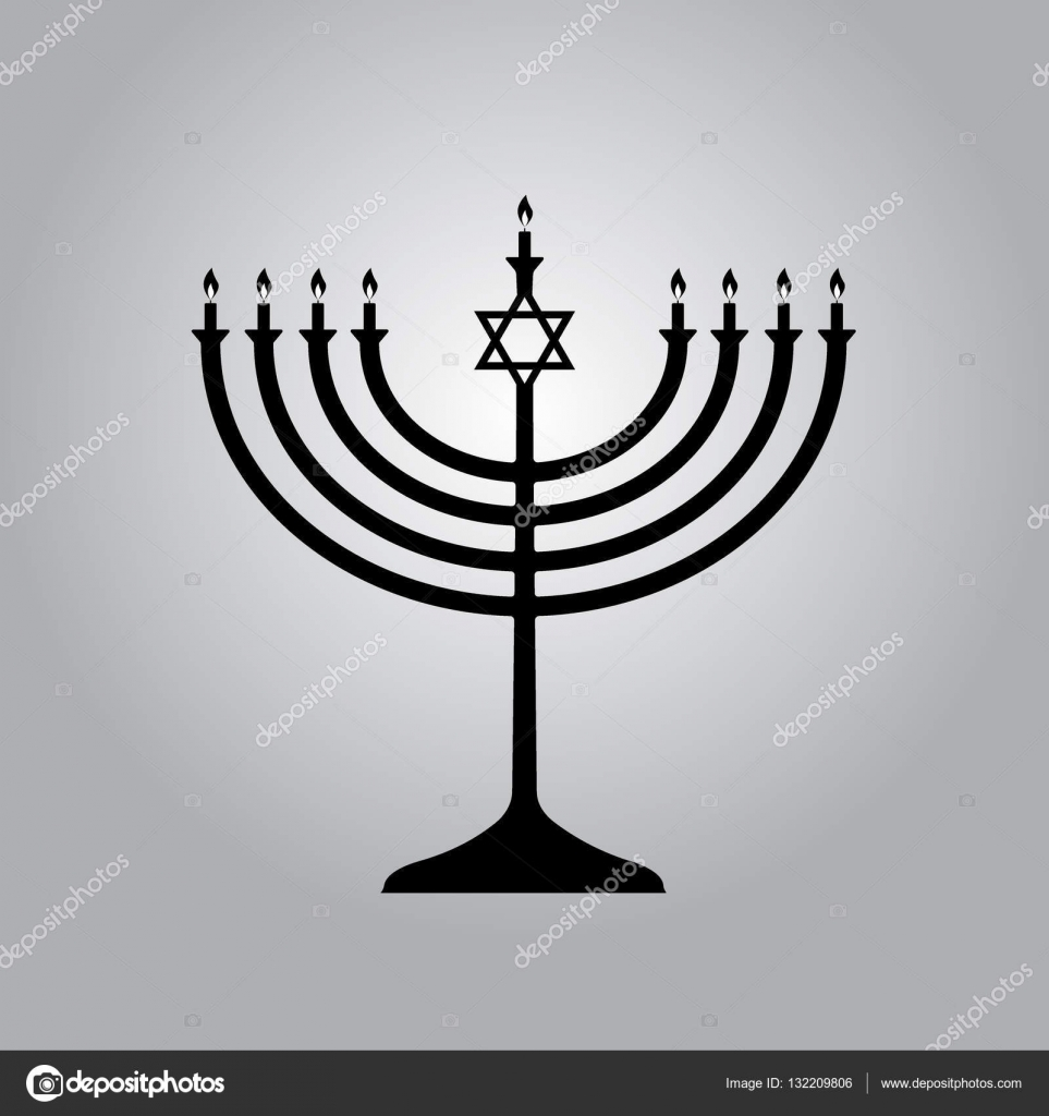 Menorah symbol of judaism illustration isolated stock vector menorah symbol of judaism illustration isolated stock vector buycottarizona Images