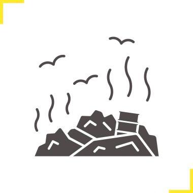 Rubbish dump icon