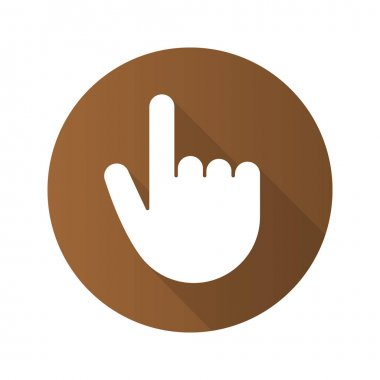 Point up gesture icon