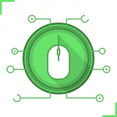 Network access flat  icon