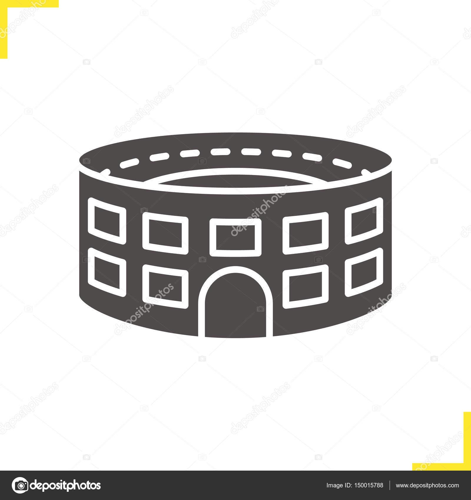 Stadium building icon stock vector bsd 150015788 stadium building icon stock vector biocorpaavc
