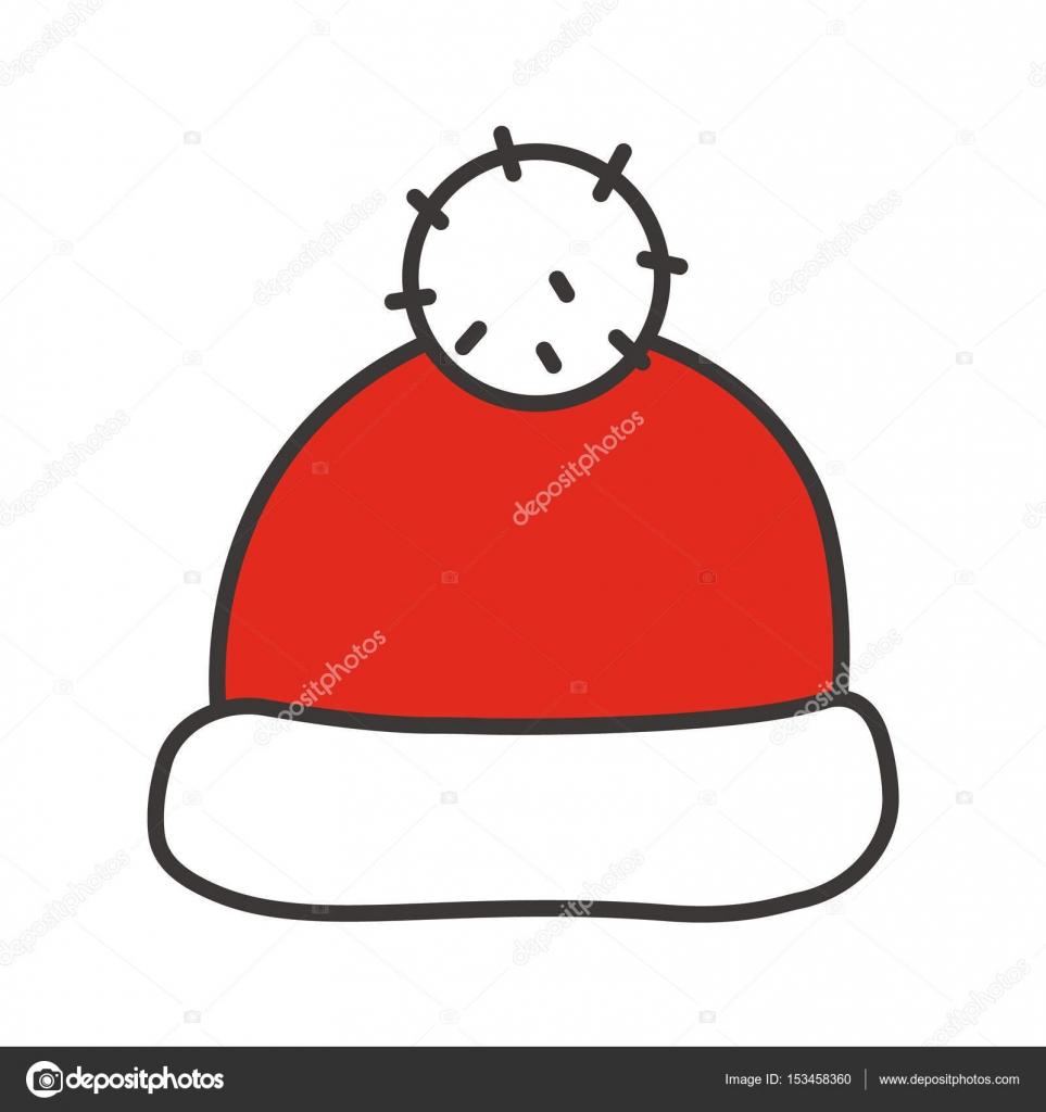 Disegni Del Cappello Di Babbo Natale Disegni Di Natale