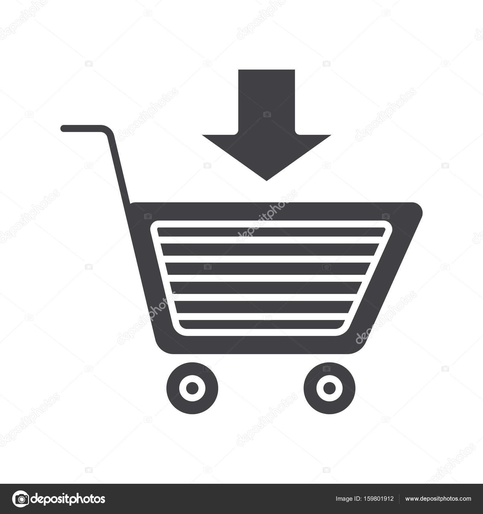 482f29999b9 toevoegen aan winkelwagen pictogram — Stockvector © bsd #159801912