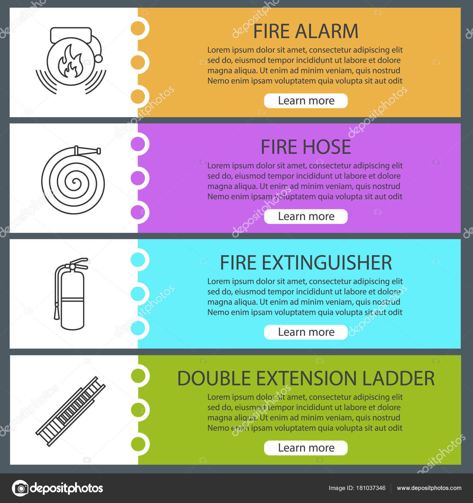 Webová stránka hasiče