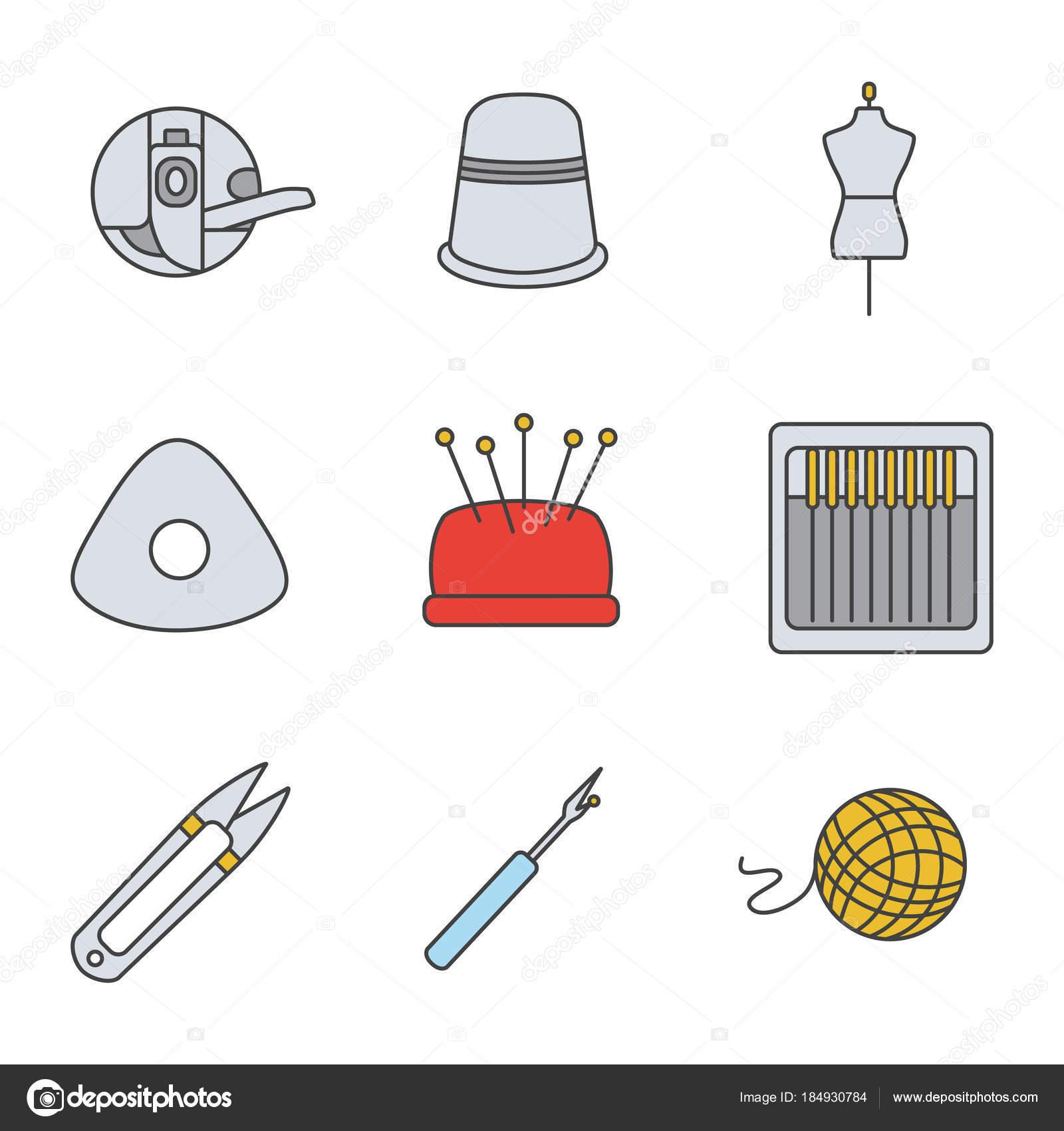 Imágenes: un dedal para colorear | Adaptando Los Iconos Color ...