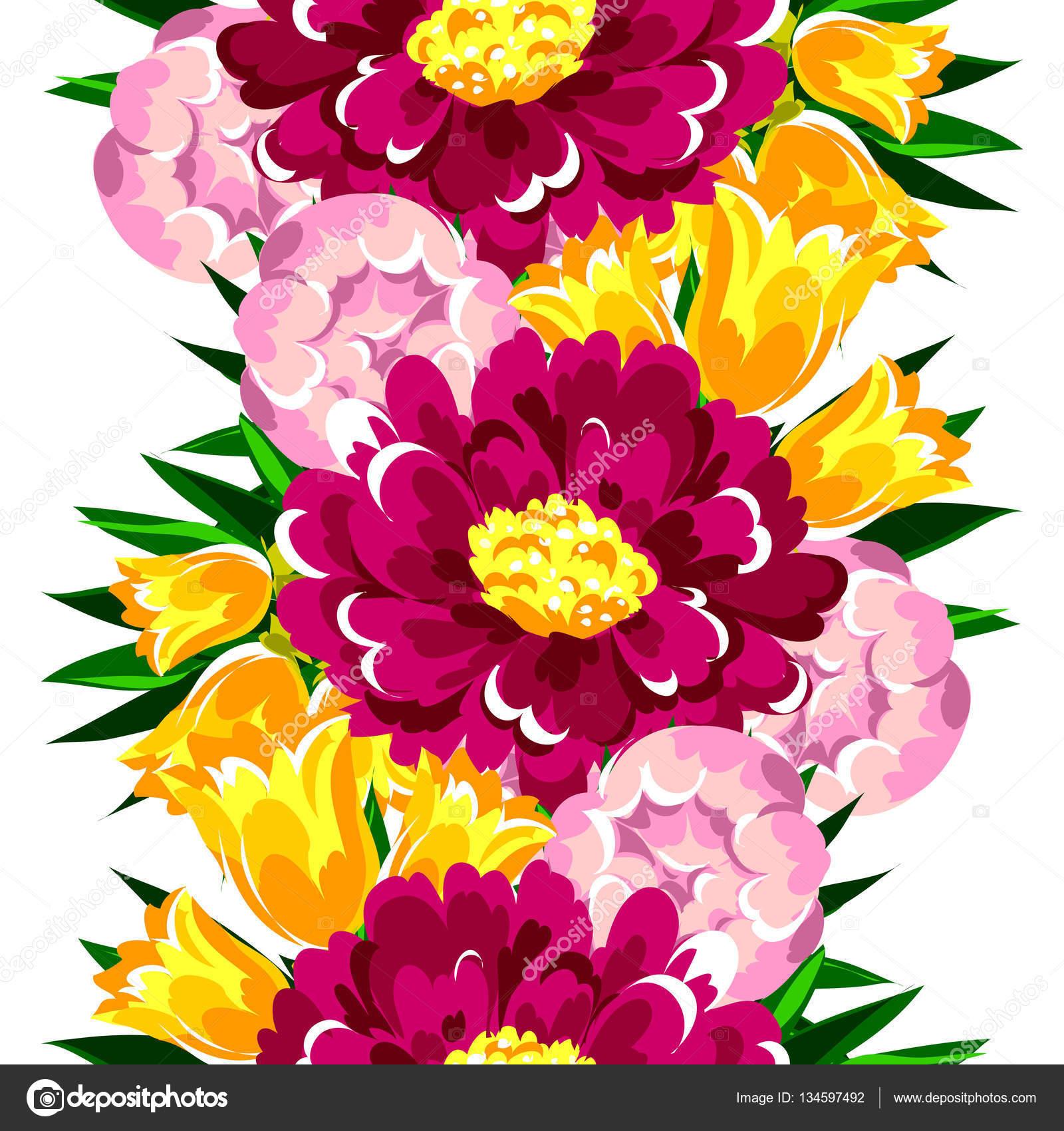 Beautiful flowers ornament stock vector all about flowers 134597492 beautiful flowers ornament stock vector izmirmasajfo