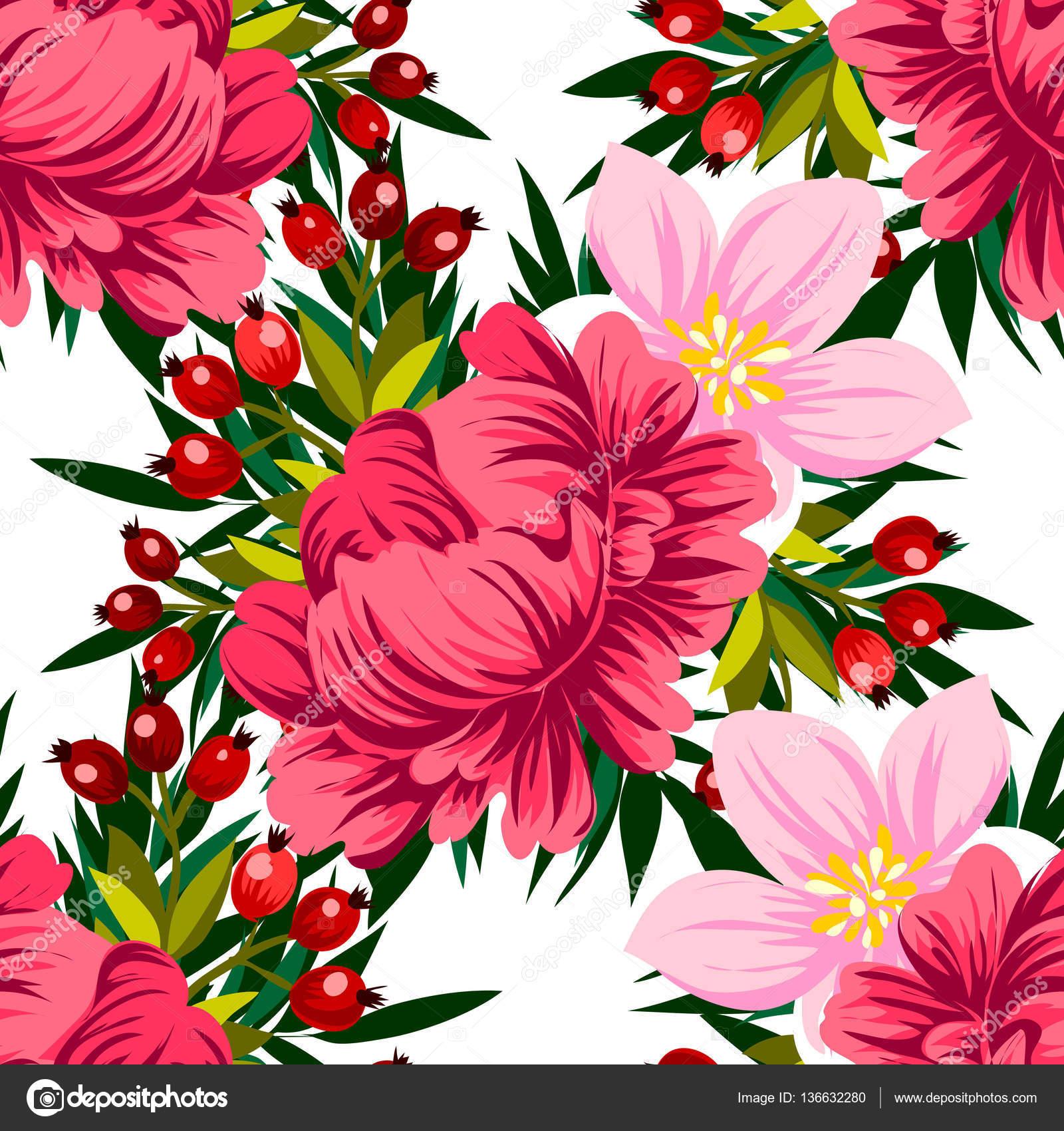 Beautiful flowers ornament stock vector all about flowers 136632280 vector illustration of beautiful flowers ornament for postcard vector by all about flowers izmirmasajfo