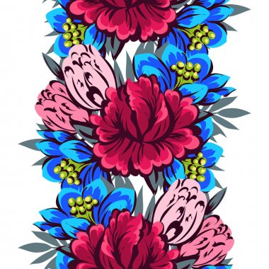 pattern with floral elements