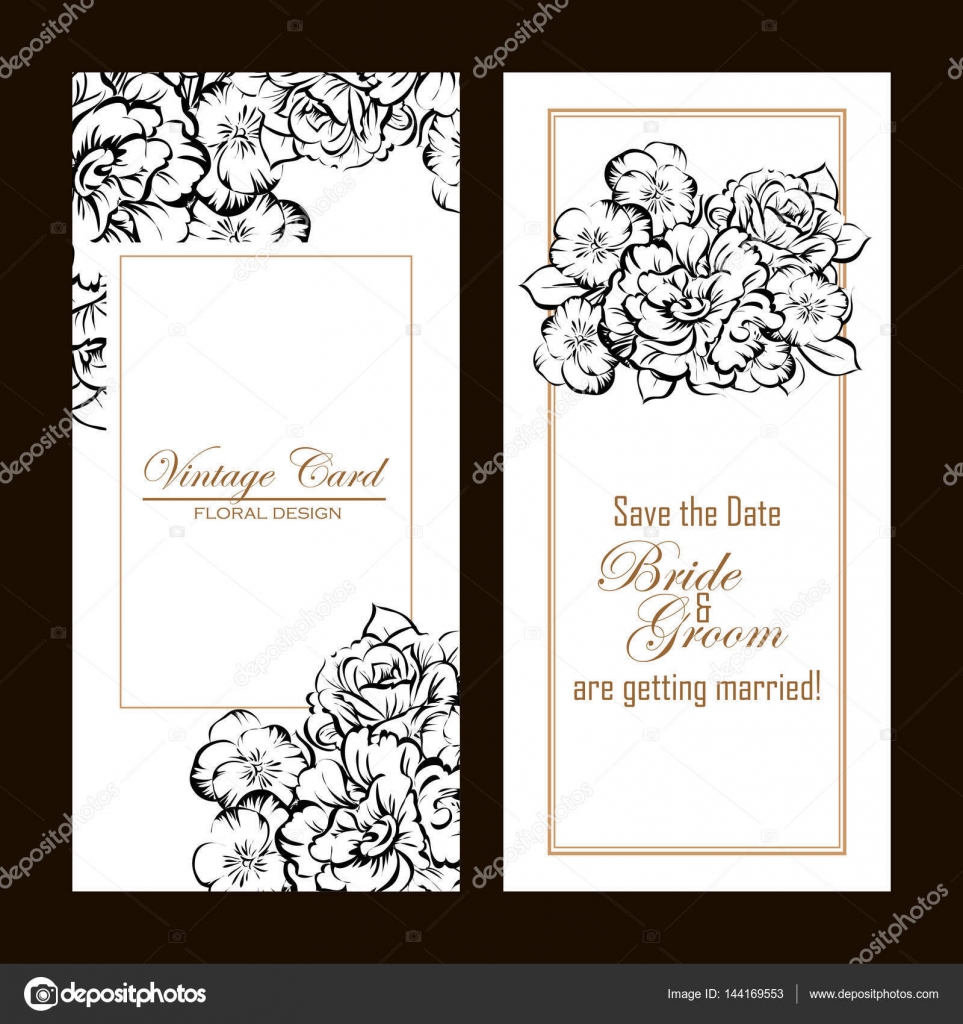 romantic invitation backgrounds stock vector all about flowers