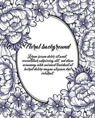 Romantic invitation background
