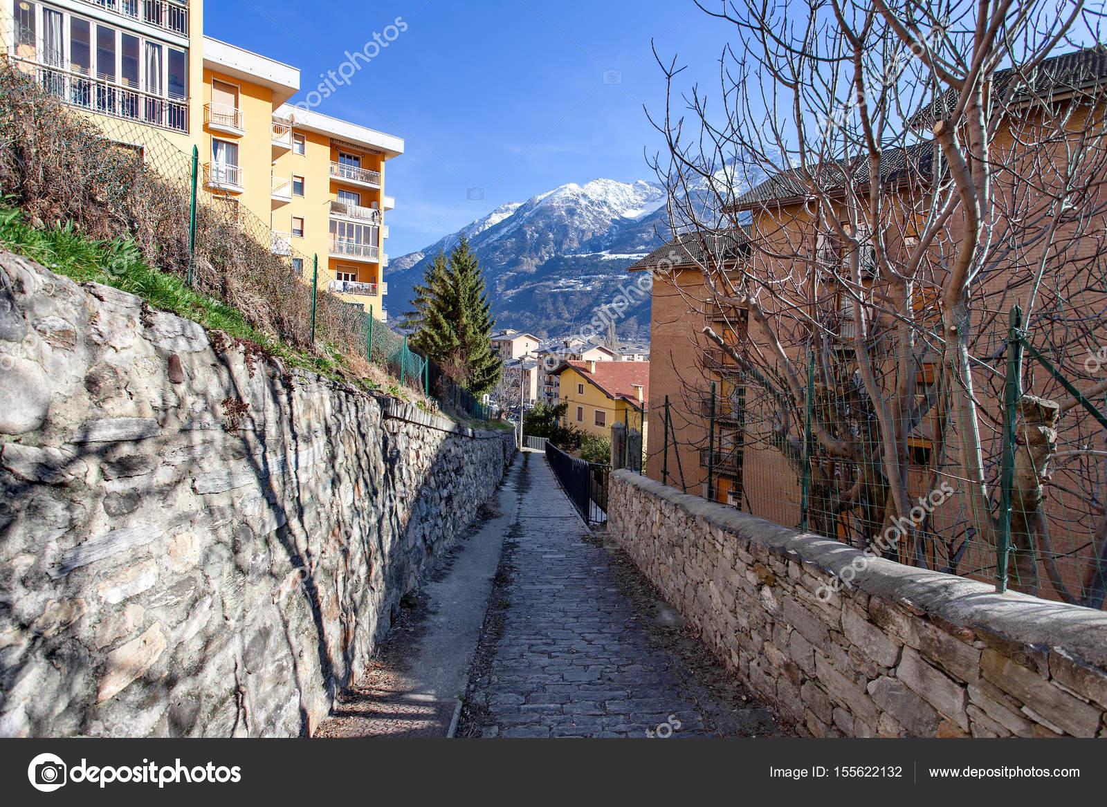 Aosta Valle D Aosta Italy Stock Photo C Irinasen 155622132