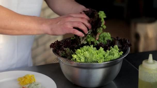 Cocinar Lechuga | Pone A Cocinar En Los Anillos De Cebolla Lechuga Y Salsa De La