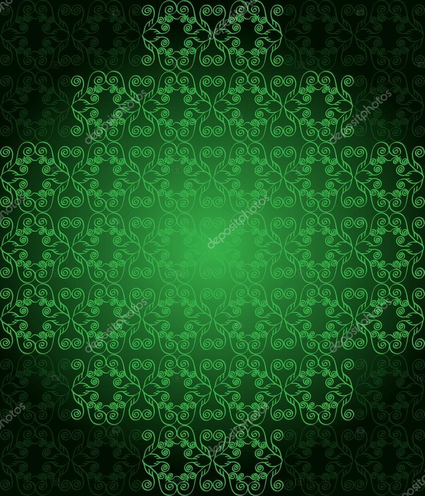 Fondo: Colores Verdes Oscuros