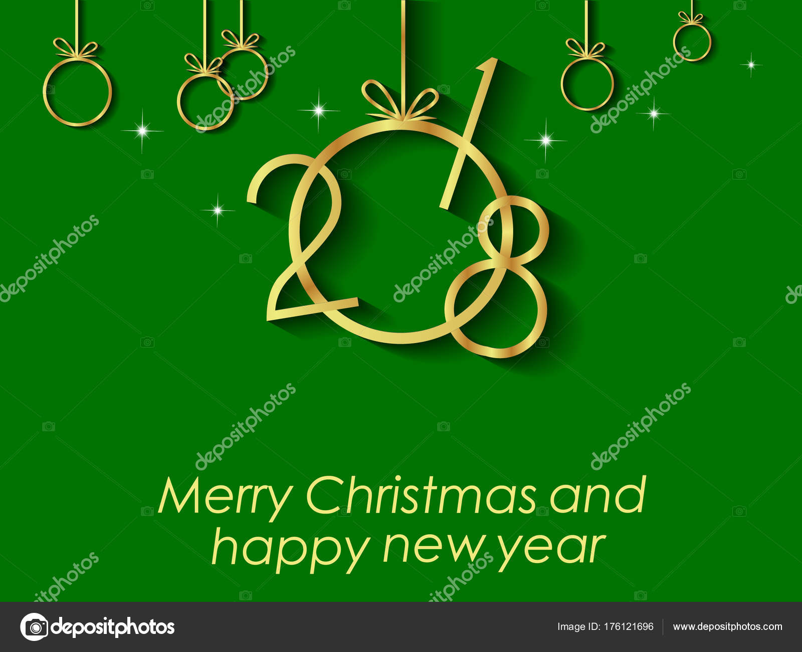 2018 happy new year and christmas for invitation on the dinner background for flayer vector by plutonii