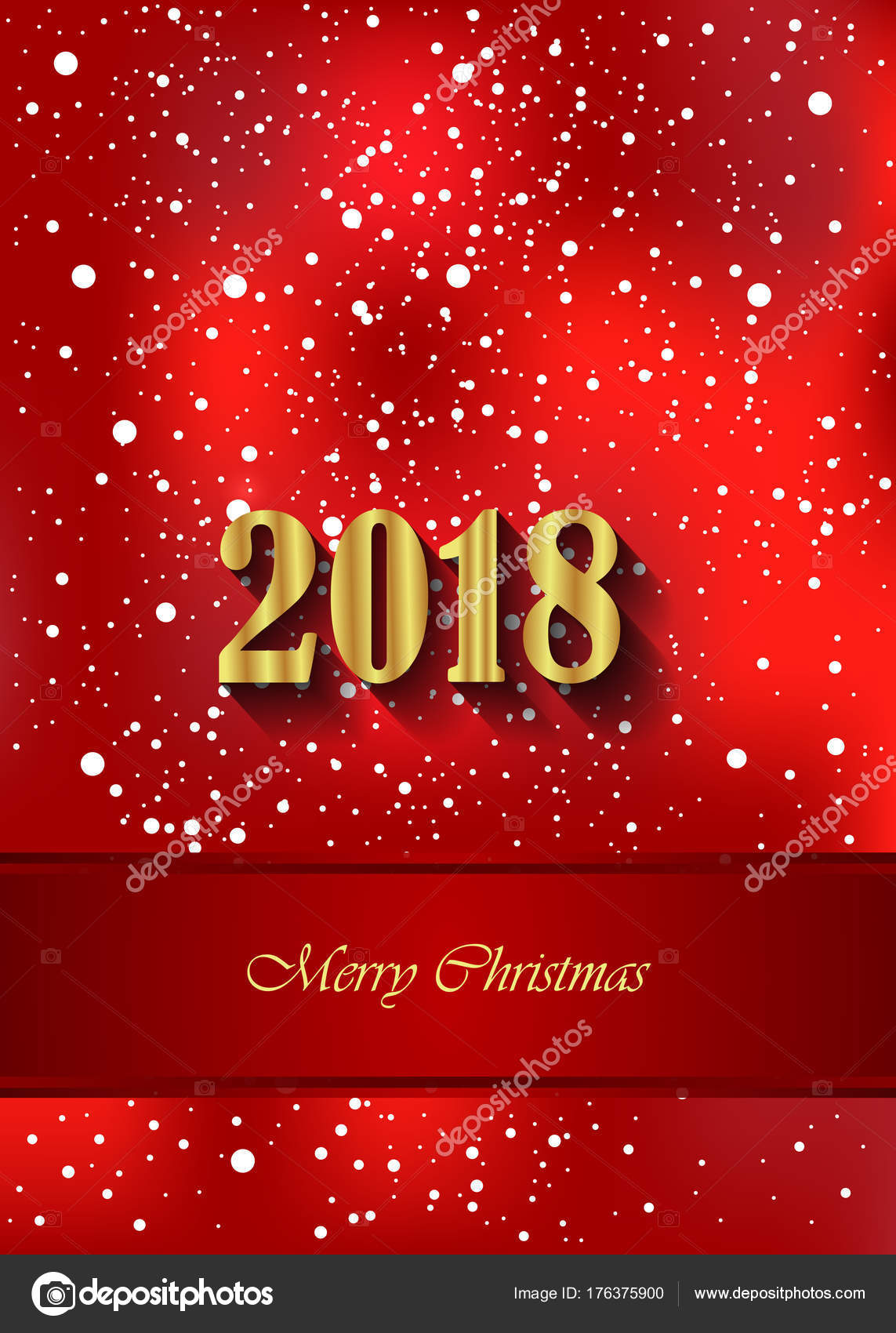Merry Christmas Poster 2018.2018 Merry Christmas Background Your Invitations Festive