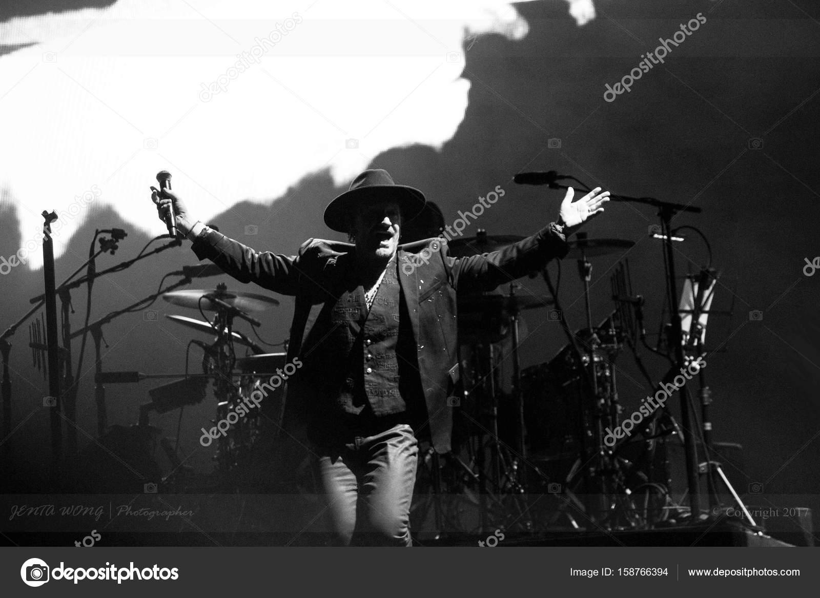 U2- Joshua Tree 30-year Anniversary- Bono, Lead singer – Stock