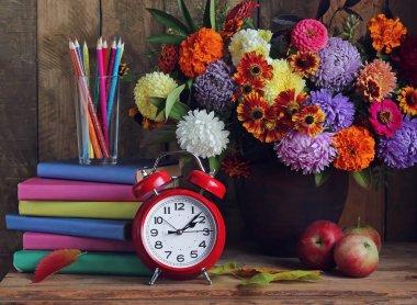 Back to school. The teacher's day.  September 1.